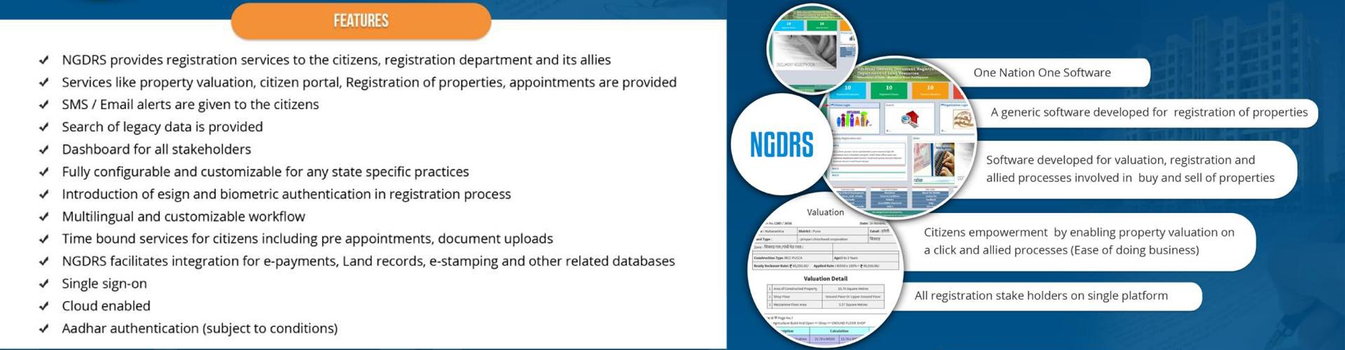 NGDRS : National Generic Document Registration System